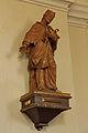 Figur des hl. Johannes Nepomuk in der kath. Pfarrkirche Karlstift.jpg
