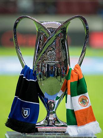 Polish Cup - 2014 Polish Cup final match between Zawisza Bydgoszcz and Zaglebie Lubin.