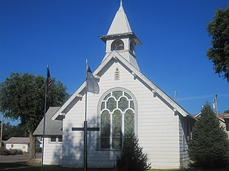 Holly, Colorado - First Christian Church in Holly