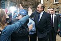 First Minister of Scotland, Alex Salmond greets fans in Edinburgh.jpg