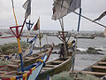 Fisherboats in Winneba, Ghana-2.jpg