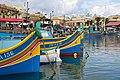 Fishing boats at Marsaxlokk 9 (6800166808).jpg