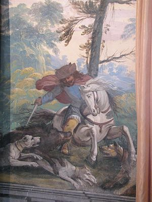 Pietro Ricchi - Image: Fléchères salon chasses 4