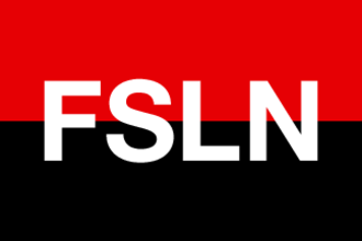 Contras - Image: Flag of the FSLN