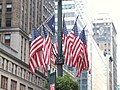 Flags outside Grand Central.JPG