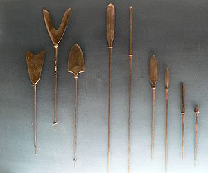 Arrowhead - Japanese arrowheads of several shapes and functions