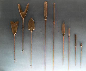 Arrow - Various Japanese arrowheads