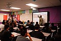 Flickr - Official U.S. Navy Imagery - A Navy LT. speaks to a middle school class during Fremont Intermediate School career day..jpg