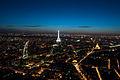 Flickr - Whiternoise - Paris from Tour Montparnasse, Nighttime.jpg