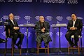 Flickr - World Economic Forum - Mottaki, Karzai, Abdulla-Janahi - World Economic Forum Turkey 2008.jpg