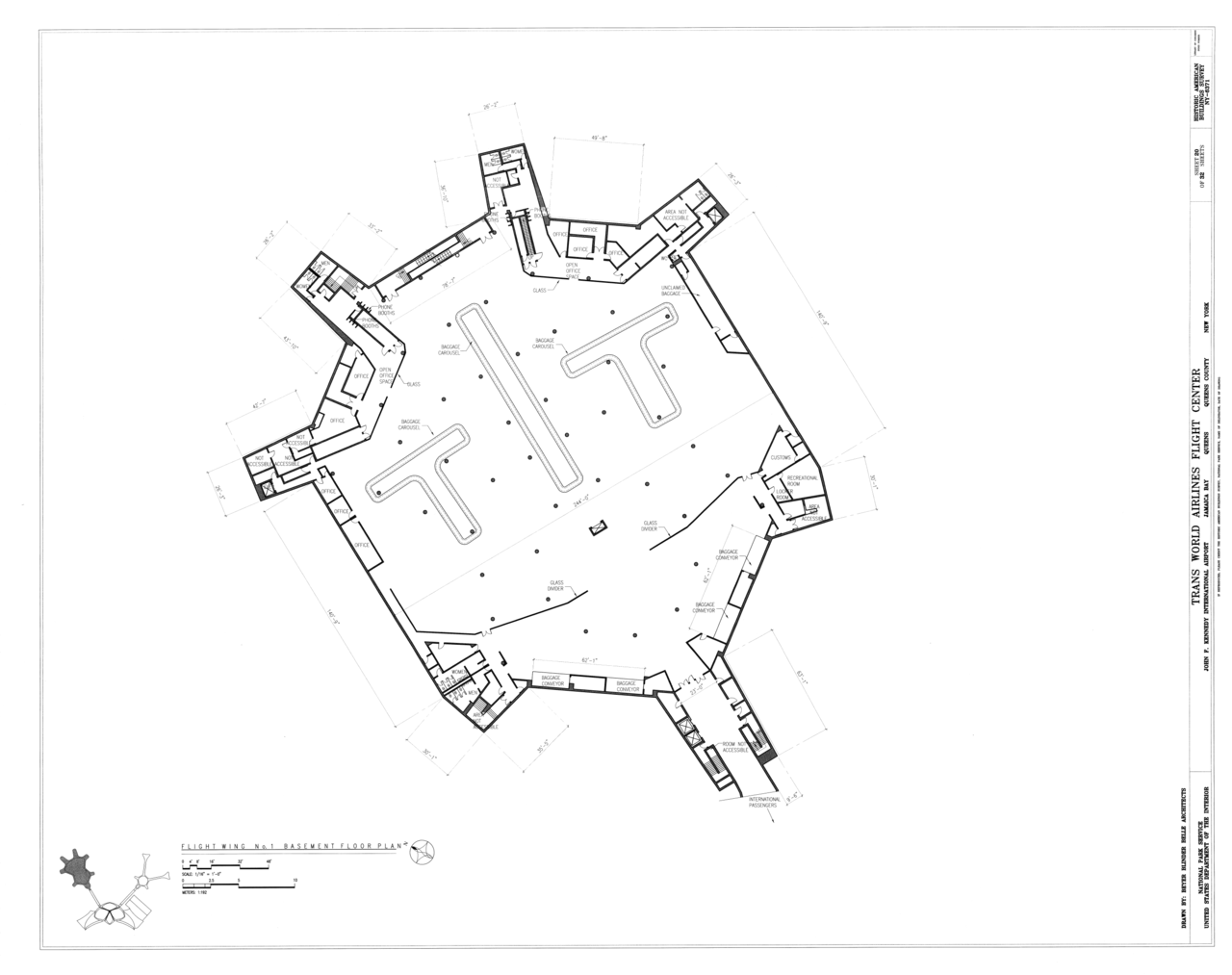 Ping Mall Plan Elevation Section : File flight wing no plan section and elevation
