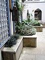 Flowerbeds in St Ethelburga's churchyard - geograph.org.uk - 921546.jpg