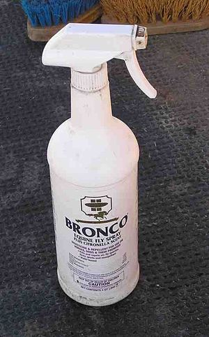 Fly spray for horses is often required in hot ...