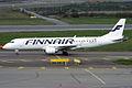 Flybe Nordic (Finnair livery), OH-LKM, Embraer ERJ-190LR (16456523275).jpg