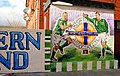Football mural, Belfast (2) - geograph.org.uk - 1705770.jpg