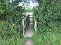 Footbridge near East Lock - geograph.org.uk - 1345004.jpg