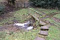 Footbridge over Wash Brook - geograph.org.uk - 645100.jpg