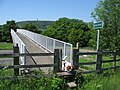 Footbridge over the M66 - geograph.org.uk - 1335778.jpg