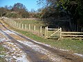 Footpath and new track - geograph.org.uk - 1639821.jpg