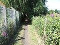 Footpath beside railway line - geograph.org.uk - 1381298.jpg