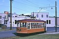 Fort Smith Birney car 224 at 6th & Garland (1997).jpg