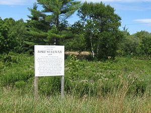 Fort Sullivan (Maine) - Image: Fort Sullivan, Eastport, Maine 2012
