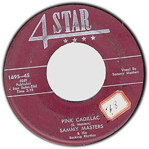 4 Star Records - 4 Star 45rpm record label