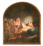 Fr Strasbourg Eglise Sainte Madeleine Nativity paiting.png