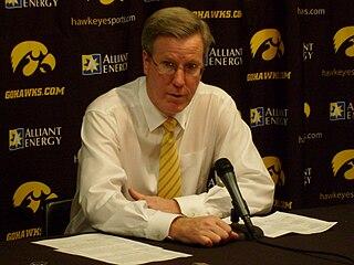 Fran McCaffery American basketball coach