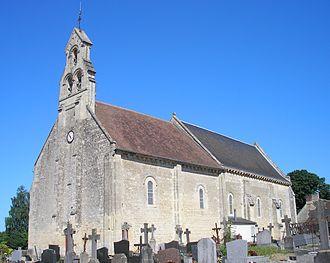 Mathieu, Calvados - The church in Mathieu