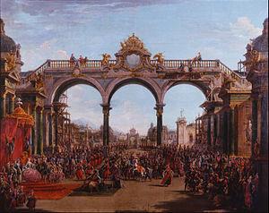 Didone abbandonata - Didone abbandonata, act 1, scene 5; Francesco Battaglioli (1754)