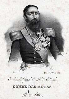 Francisco Xavier da Silva Pereira, 1st Count of Antas Portuguese noble