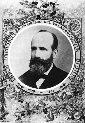 Francisco de Paula del Villar y Lozano - Francisco de Paula del Villar y Lozano