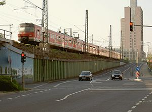 S3 (Rhine-Main S-Bahn) - S3 between Messe and Galluswarte