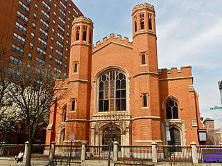 Franklin Street Presbyterian Church and Parsonage church building in Maryland, United States of America