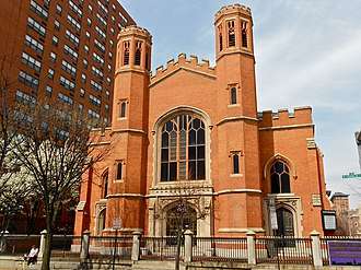 Cathedral Hill Historic District (Baltimore, Maryland) - Image: Franklin St Presby Baltimore