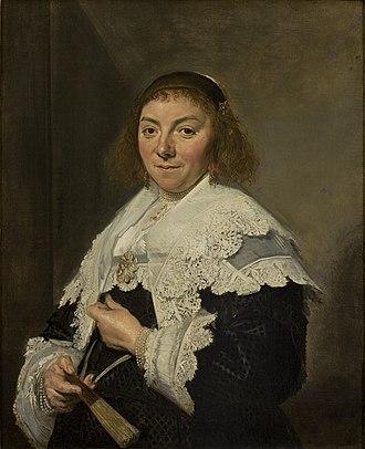 Andries van Hoorn - Image: Frans Hals Maria Pietersdochter Olycan 1