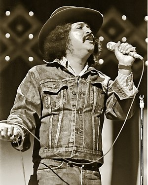 Latin American music in the United States - Freddy Fender performing in 1977