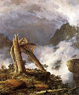 Frederic Edwin Church - Storm in the Mountains