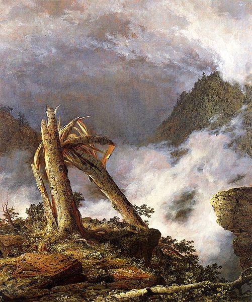 Творчество американского художника Фредерика Черча