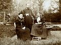 Frederick Belding Power, Frau Flückiger and Marie Flückiger. Wellcome V0027689.jpg