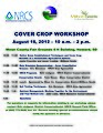 Free Workshop Aug 16 in Miner Co., SD - Cover Crops-Soil Quality-Native Grasses (7693646382).jpg