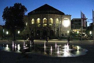 Theater Freiburg building in Freiburg im Breisgau, Freiburg Government Region, Bade-Württemberg, Germany