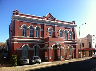 Fremantle Trades Hall - Facade of the Fremantle Trades Hall