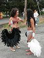 Fremont Solstice Parade 2007 - samba dancers at Gasworks 03.jpg