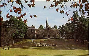Berry College - Frost Chapel, located on the Mountain Campus of Berry College