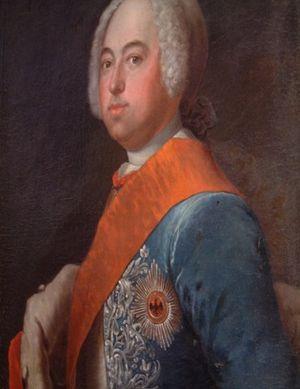 Victor Frederick, Prince of Anhalt-Bernburg - Portrait of Victor Frederick, c. 1730