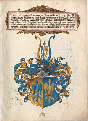 "Fugger - Coat of Arms of the ""Fugger of the Lily"""