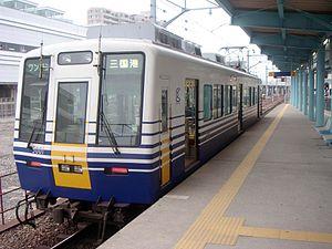 Echizen Railway - Image: Fukui Station, Echizen Railway 200507