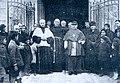 Fundación Joaquín Díaz - Entrega de la parroquia de la Sagrada Familia a los PP. Franciscanos por el Arzobispo D. Remigio Gandásegui - Valladolid.jpg
